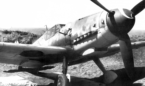 bf-109 самолет Мессершмитт