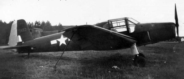 Самолет «Bestmann» Бюккер Bu 181 «Бестманн» («Отличник»)