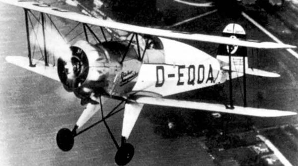 Самолет Bucker Bu 133 «Jungmeister» («Юный мастер»)