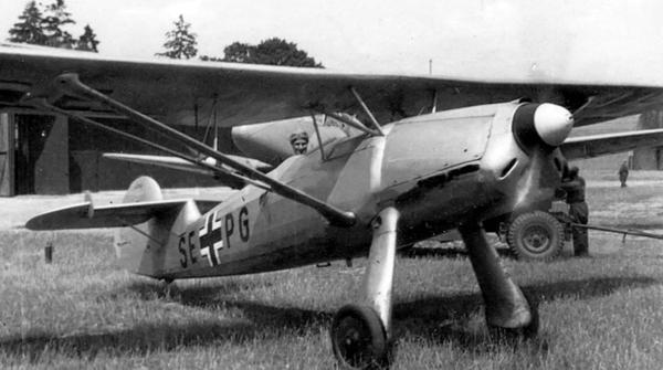 Самолет Фокке-Вульф FW 56 «Штессер»