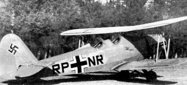 Самолет Гота Go 145