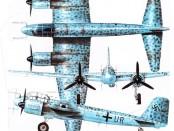 Ночной истребитель Юнкерс 88