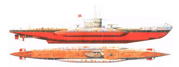 Подлодка кригсмарин тип VII