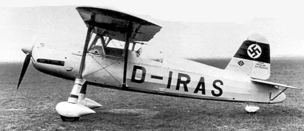 Самолет Арадо Ar 76