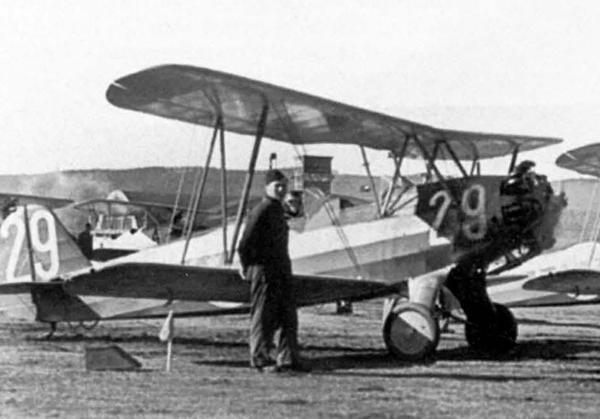 Самолет Focke-Wulf FW 44 «Stieglitz» (Штиглиц)